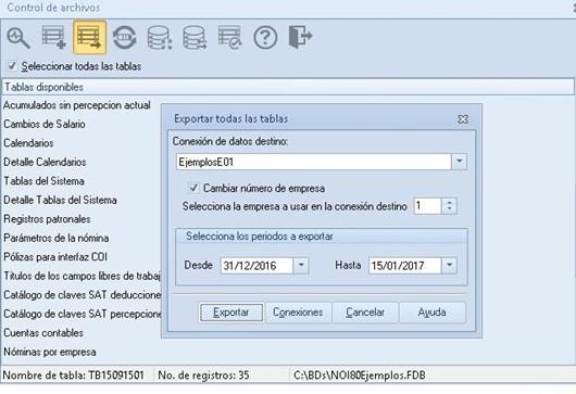 control de archivos