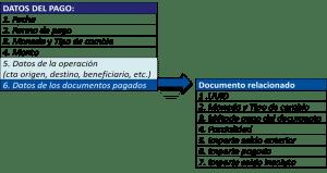 datos de pago